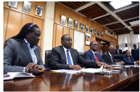 National Treasury officials