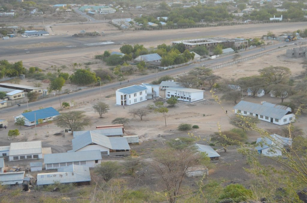 Photo: Lodwar town in Turkana County