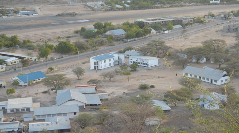 Photo: Lodwar town in Turkana County