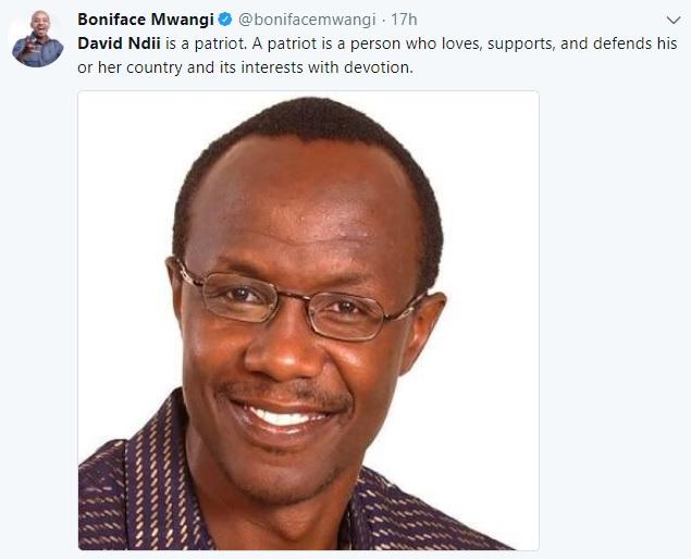 Economist David Ndii