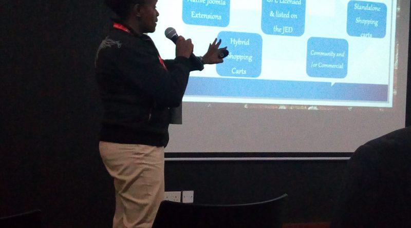 Joan Kinyamasyo on Joomla as an e-commerce