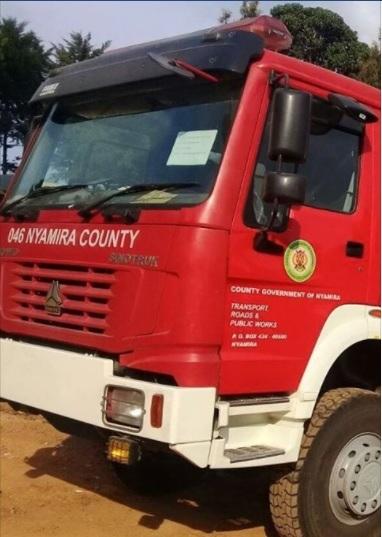 Nyamira County Fire Truck
