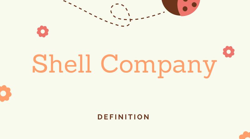 Shell company