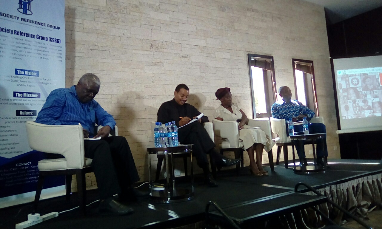 shrinking Space for East  Africa Media and Civil Society