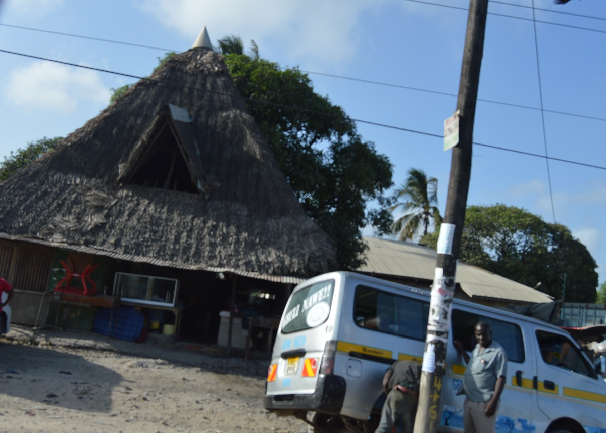 Housing architecture at the Coast of Kenya