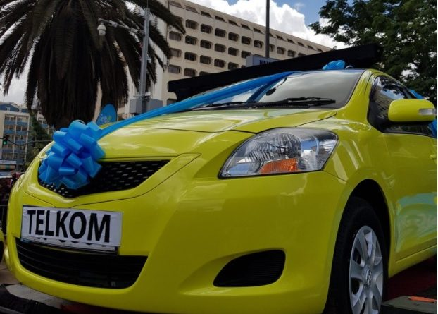 Load your Telkom line and will one of these 50 cars in 50 days.
