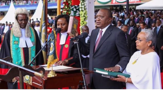 Uhuru Kenyatta Swearing in ceremony