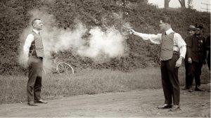 testing bullet proof vests