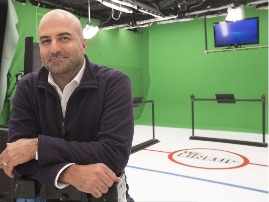 ASHKAN KARBASFROOSHAN WatchMojo CEO and Founder.