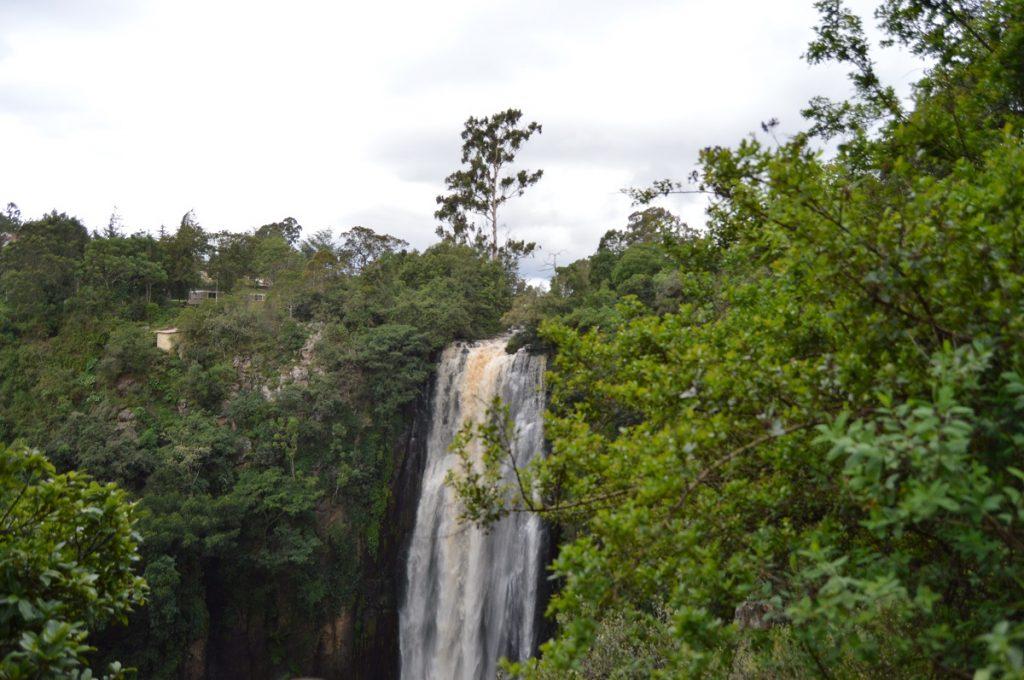 Thomson's Falls, Nyahururu town in Laikipia County.