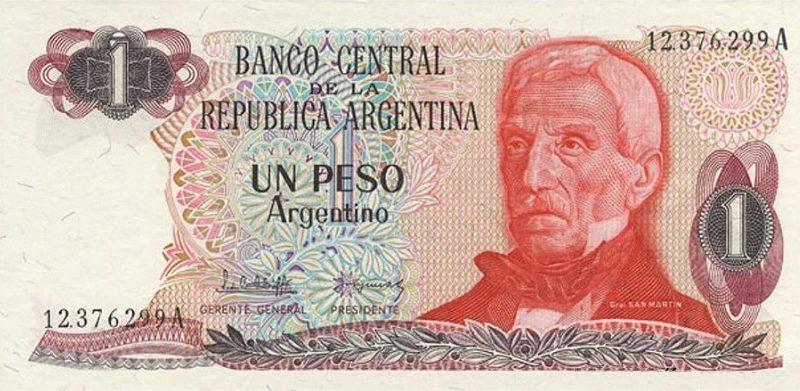 Argentine Peso Collapse