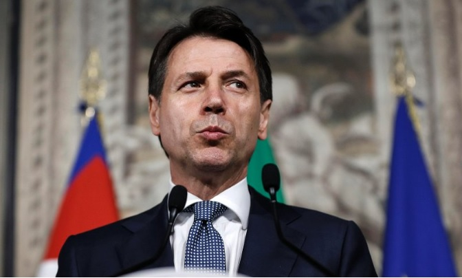 Giuseppe Conte is the new Italian Prime Minister
