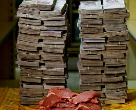 hyper inflation in Venezuela
