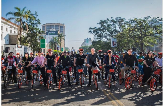 Network sharing in Bike Sharing: Ofo and Mobike