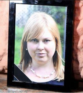 Kateryna Handzyuk, anti-corruption activist who died after acid attacks.