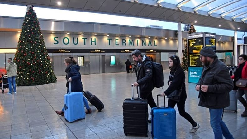 Southern Terminal at Gatwick Airport. Photo courtesy of Aljazeera English.