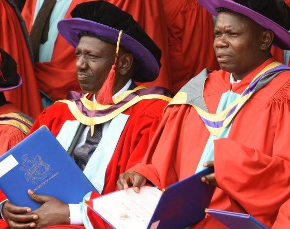 Meet Dr. William Ruto, PhD credit: @vcuonbi