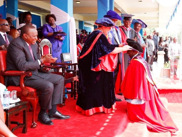 Dr. William Ruto, PhD. Credit: William Ruto's twitter account.