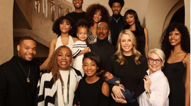 Eddie Murphy and his entire family.