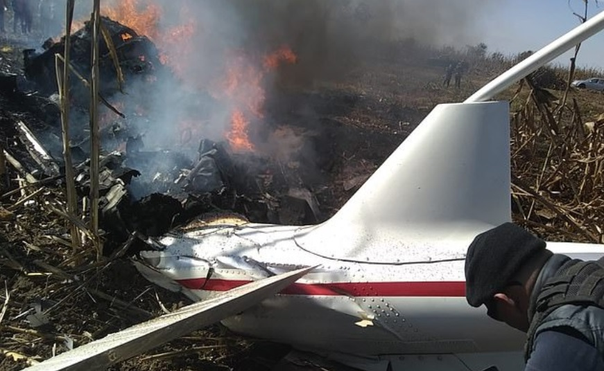 mexico helicopter crash which claimed the lives of Marta and her husband.