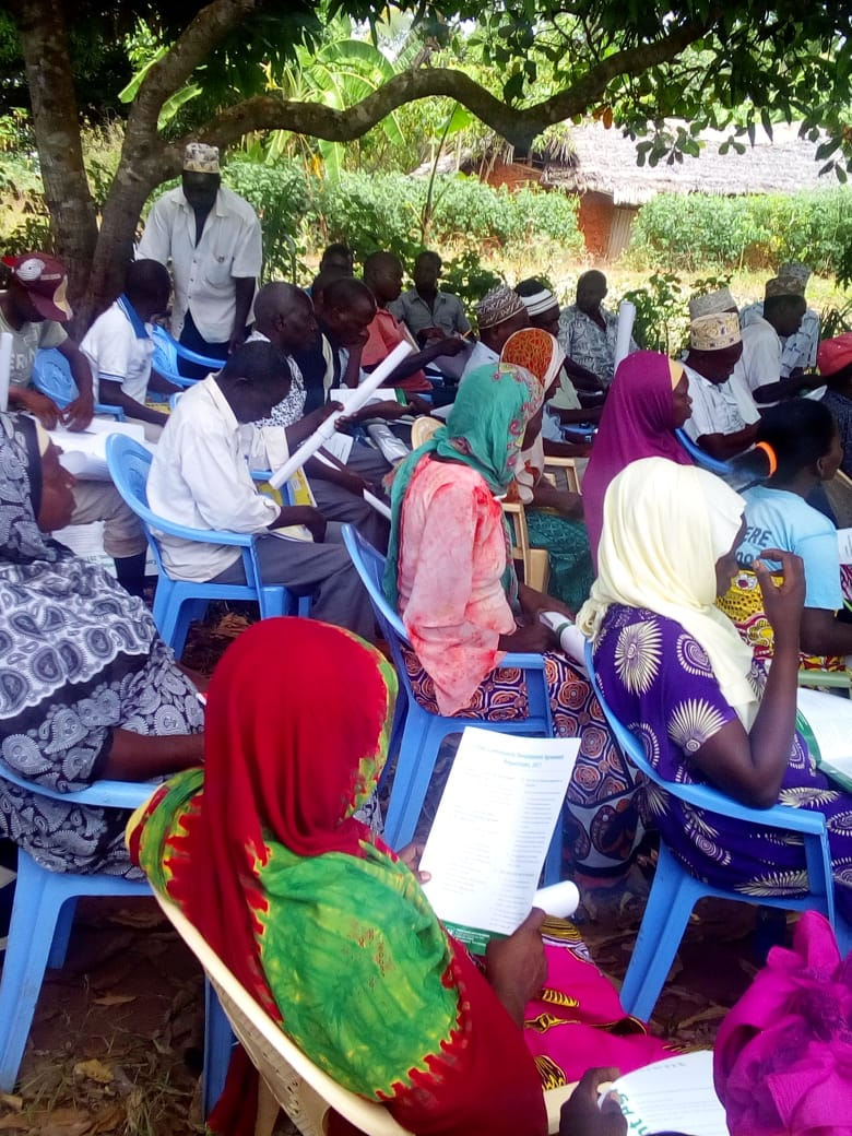 Kwale County residents from Bwiti in Lunga lunga do not want to be left behind in 2019/2020