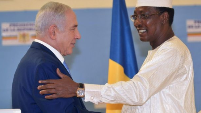PM Netanyahu meeting President Idriss of Chad.