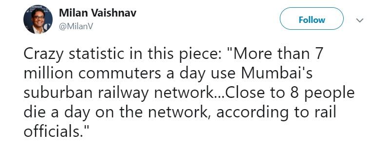 mumbai city suburban railway network