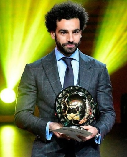 Mohamed Salah named African player of the year Again!