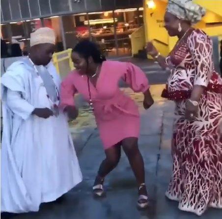 Nigerian lady dance