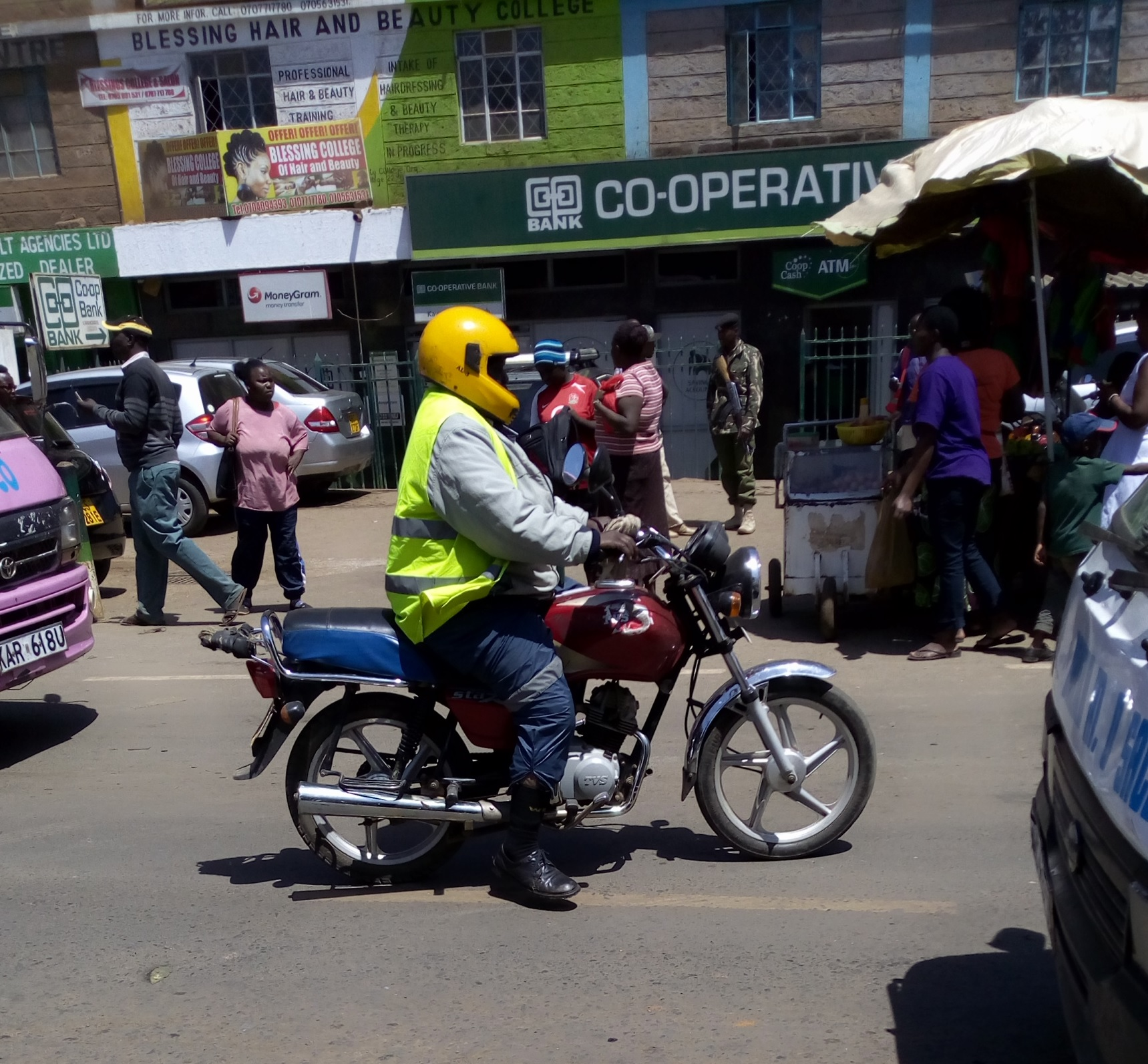 Boda boda riders have rights too!!!