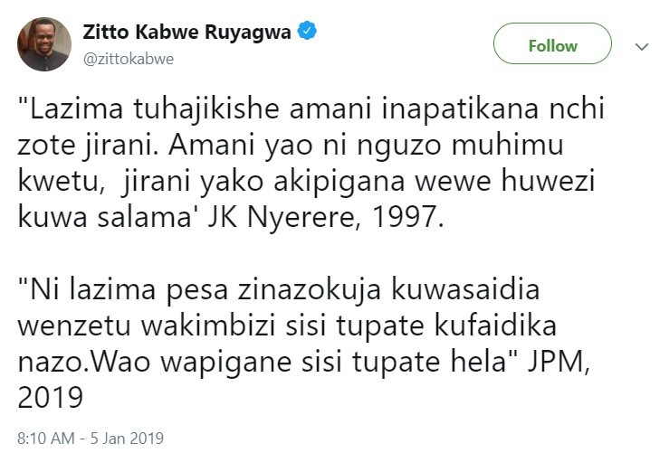 This article highlights the differences between President Pombe Magufuli and Mwalimu Julius Kambarage Nyerere of Tanzania.