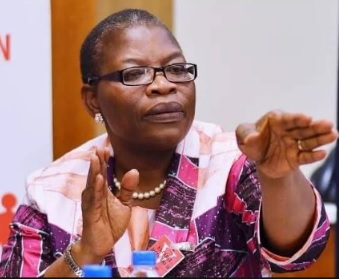 Oby Ezekwesili withdraws from the presidential race in Nigeria.