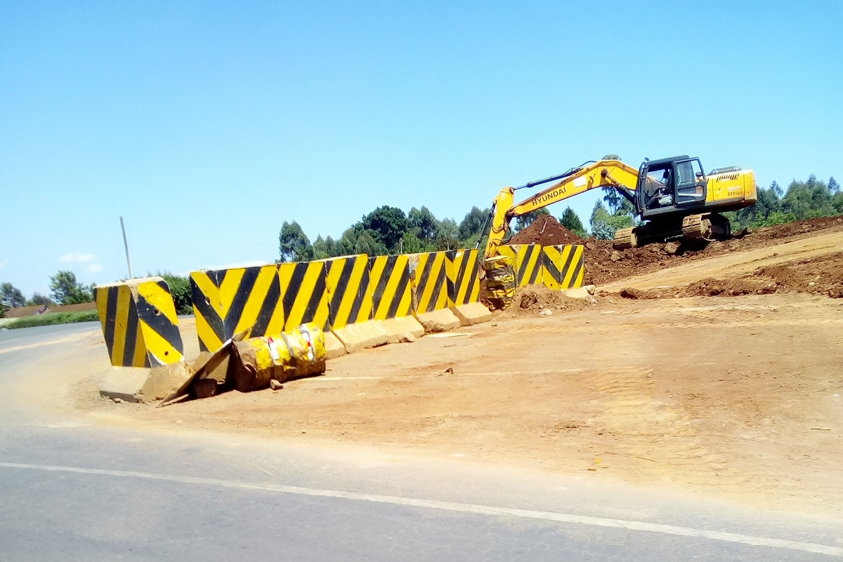 JKIA-Rironi road progress