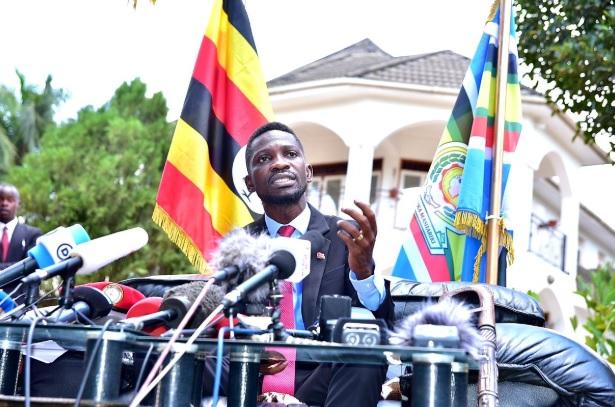Bobi Wine has declared his presidential bid against President Yoweri Museveni in 2021