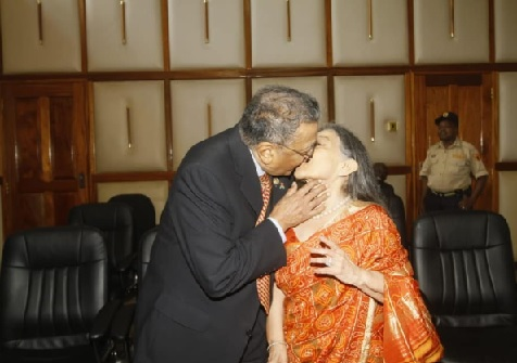 Manu Chandaria formalizes his marriage at AG Chambers after 64 years