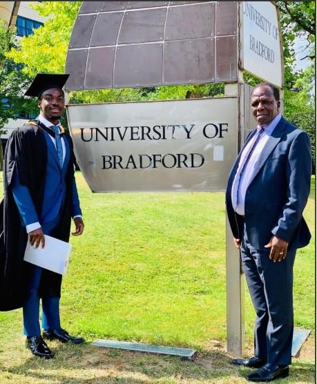 Twitter Stories: Wycliffe Oparanya's son Ian graduates with 1st Class degree in Economics