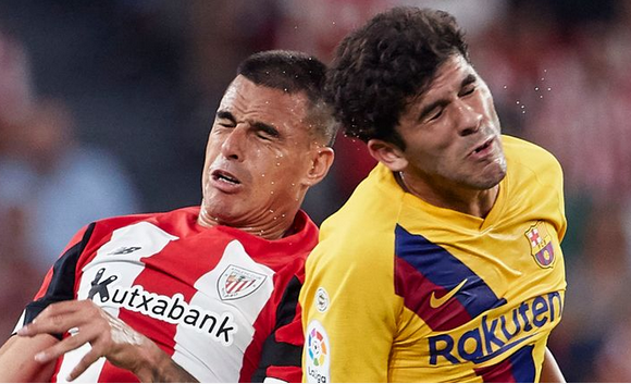 Barcelona loose opening fixture at Bilbao