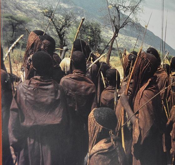 Circumcision of boys in West Pokot