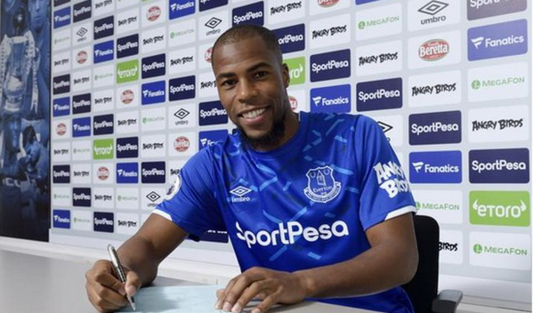 Everton FC confirm of the signing of Djibril Sidibe on a season long from Monaco