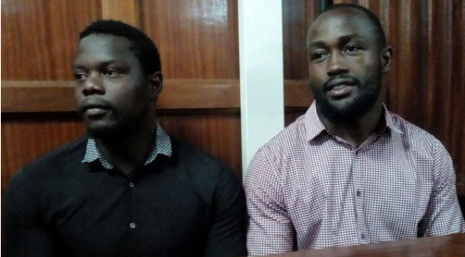 Rugby Players Frank Wanyama and Alex Olaba found guilty of gang rape