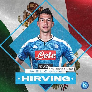 Hirving Lozano quits PSV Eindhoven for Napoli