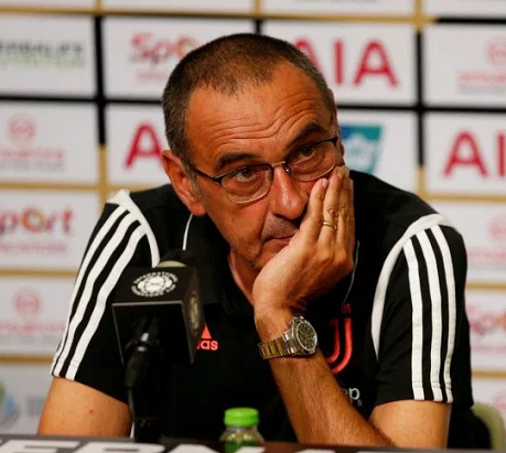 Maurizio Sarri to miss first two Serie A matches