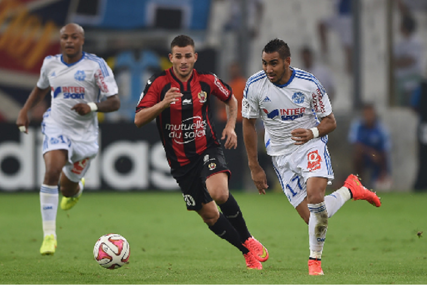 Olympique Marseille beat Nice