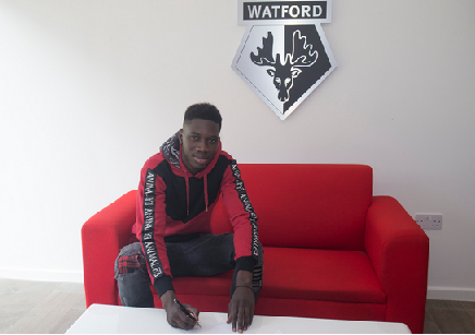 Watford sign Ismaila Sarr for club record fee