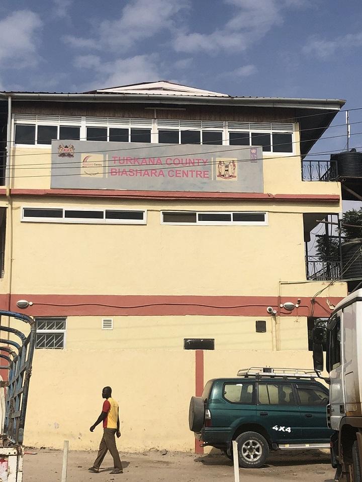 Turkana County Biashara Centre in Lodwar Town