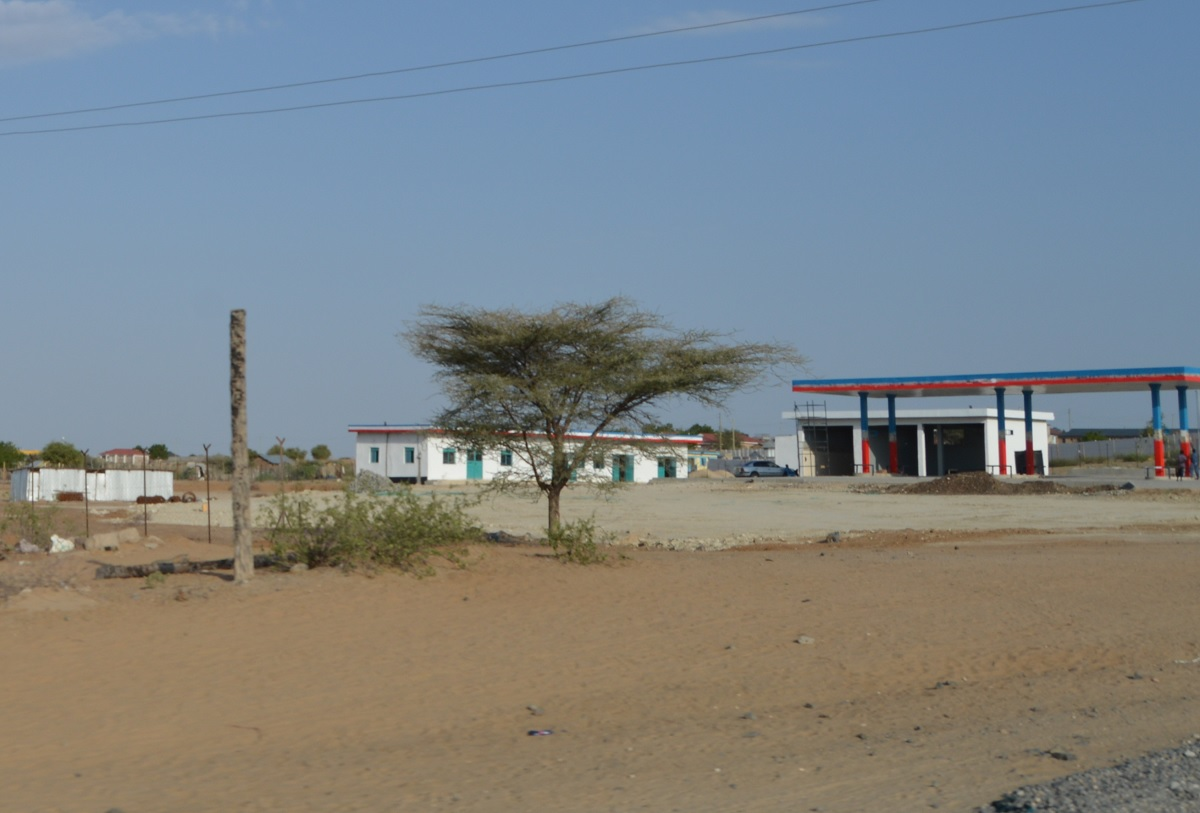 How far is Eliye Springs Resort from Lodwar?
