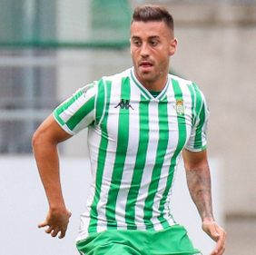 Crystal Palace sign Victor Camarasa on loan from Real Betis