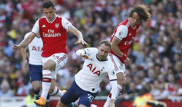Arsenal and Tottenham Hotspurs share the spoils