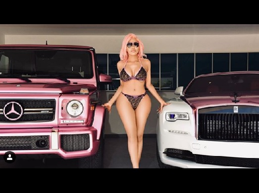 Dencia flaunts her new rides
