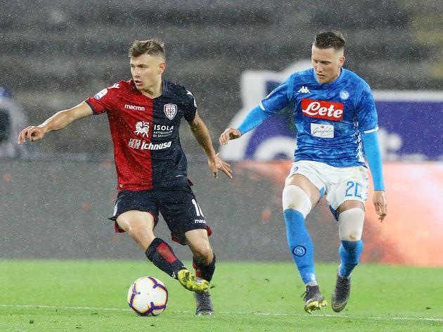 Cagliari beat Napoli
